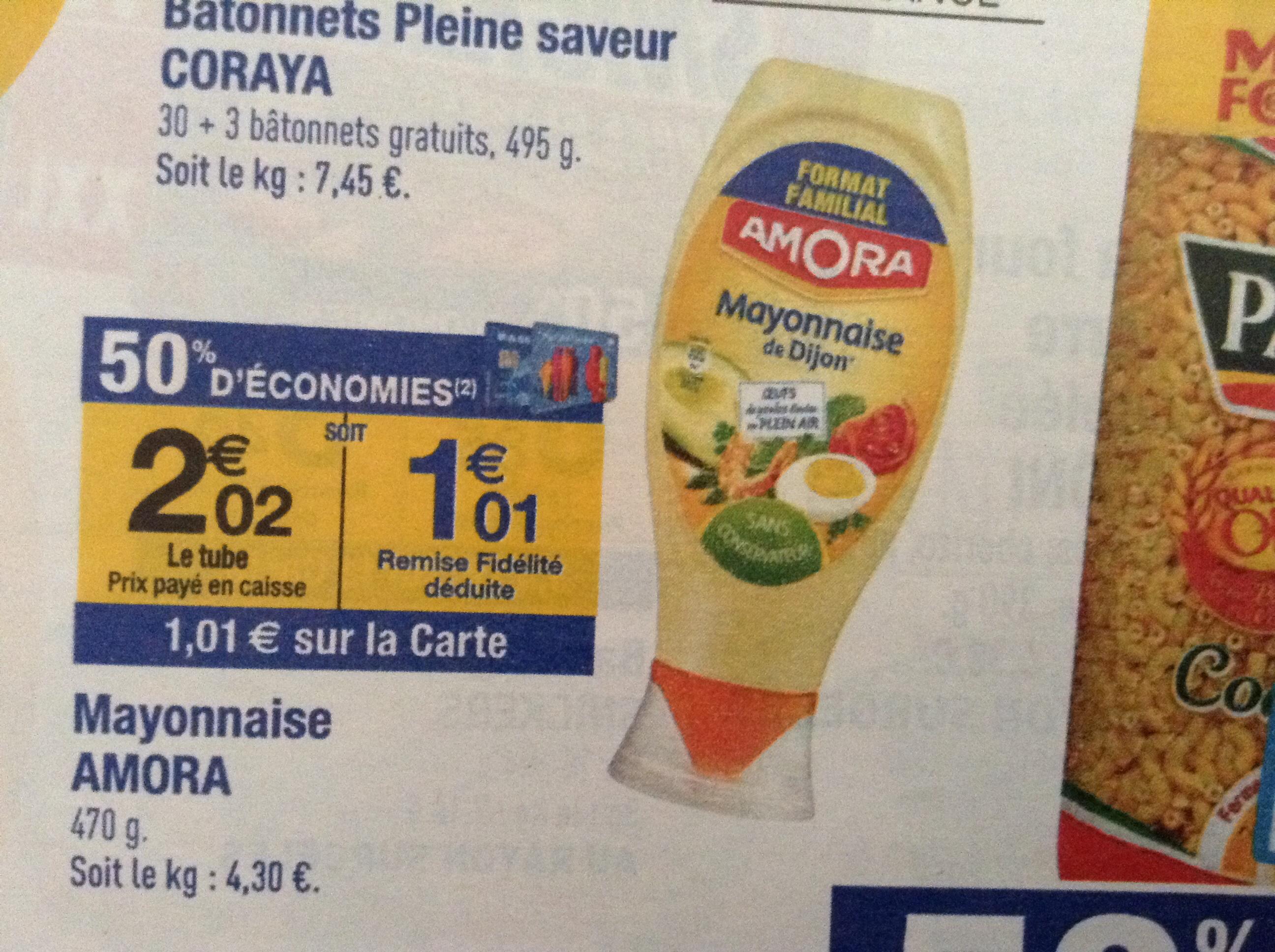 Mayonnaise Amora 470g