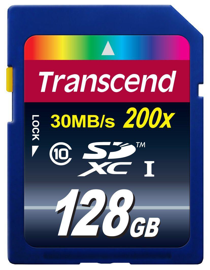 Carte mémoire Transcend 128 Go SDXC Classe 10
