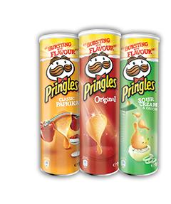 Lot de 2 boites de Pringles