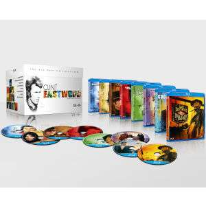 Coffret Blu-ray Collection Clint Eastwood 8 films