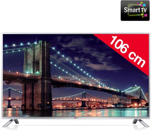 "Téléviseur 42"" LED LG 42LB5700  Smart TV"