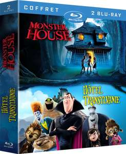 Coffret Blu-Ray Hôtel Transylvanie + Monster House