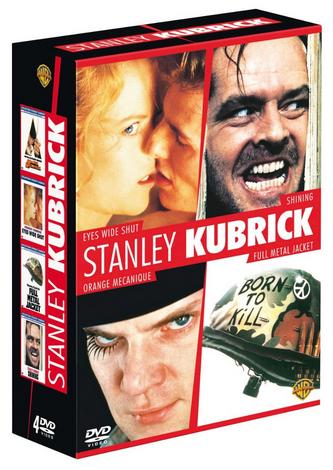 Coffret DVD Stanley Kubrick: Eyes Wide Shut + Shining + Orange mécanique + Full Metal Jacket
