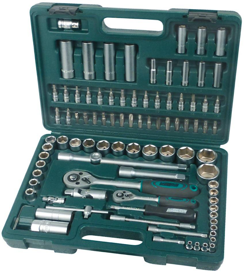 Coffret clé à douille 94 pièces Mannesmann M98410