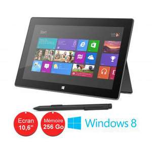 Tablette Microsoft Surface pro 2 256 Go & 8 Go de RAM