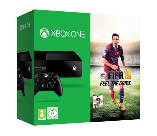 Console Xbox One + FIFA 15 + Abonnement XBOX Live de 12 mois