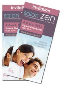 Invitation gratuite pour le salon Zen.