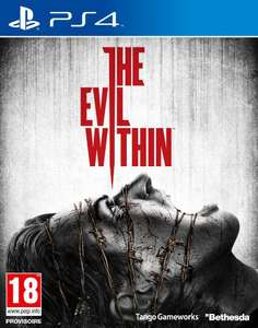 The Evil Within sur PC à 36.94€, Xbox 360 à 40.99€ et sur PS3 / PS4 / Xbox One