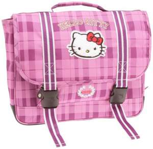 Cartable Hello Kitty Rose ou Noir