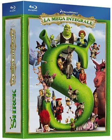 Coffret Blu-ray Shrek - La Méga Intégrale