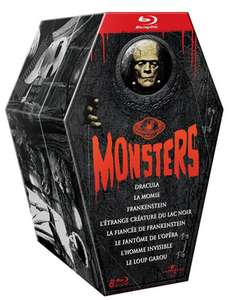 Coffret 8 films - Universal Pictures Monsters - Édition Collector (bluray)