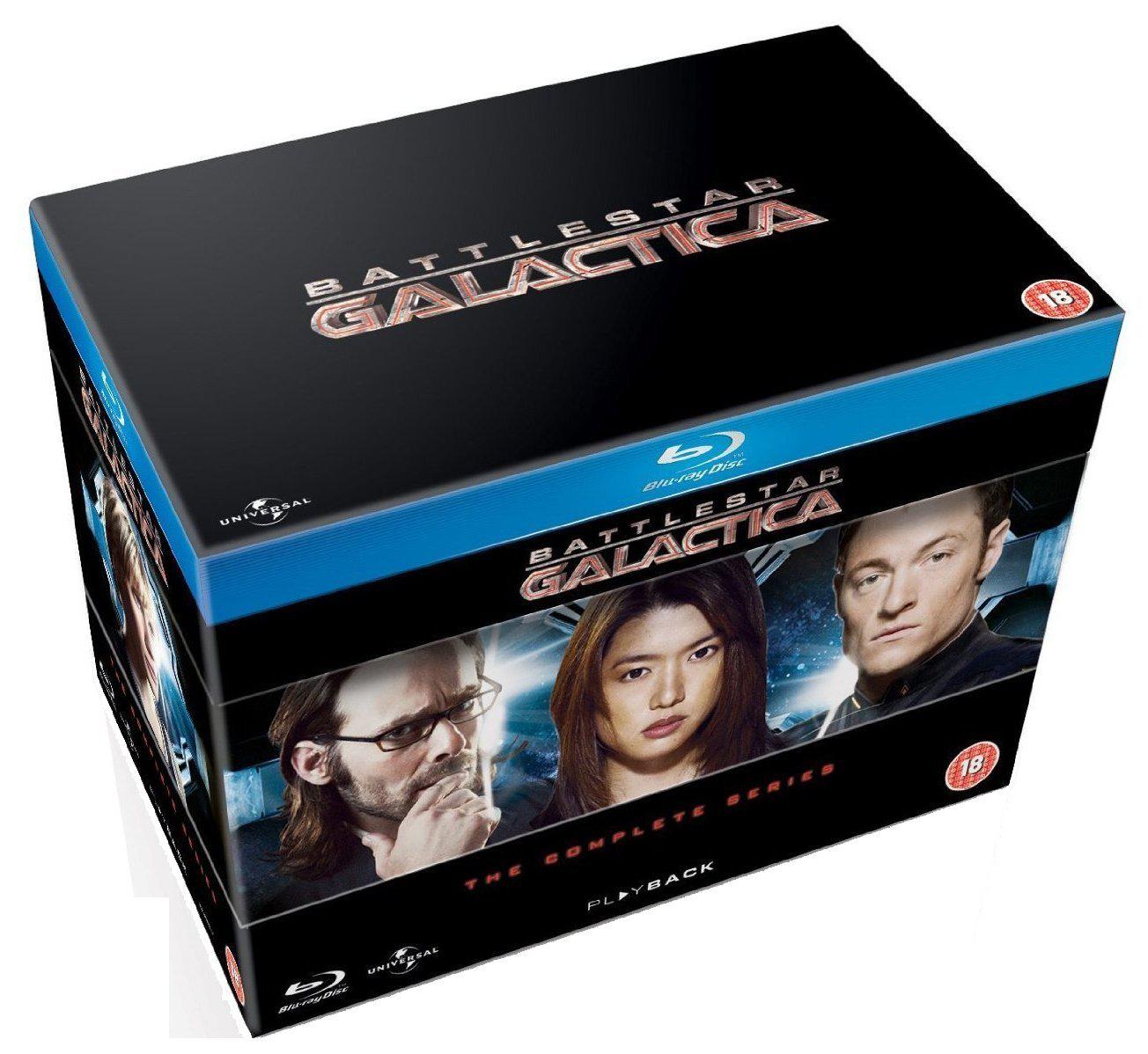 Battlestar Galactica intégrale Blu-ray
