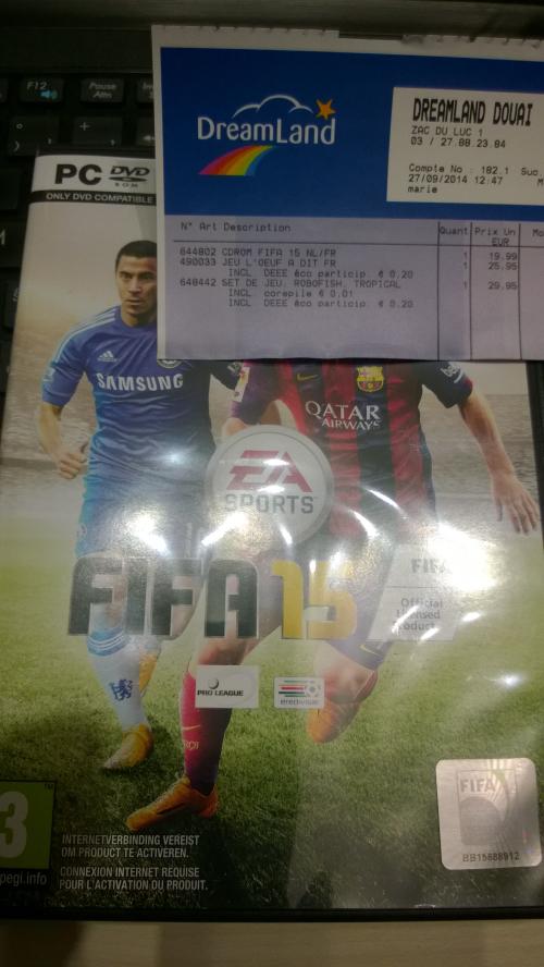 FIFA 15 sur PC