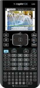 Calculatrice TI-Nspire CX CAS,