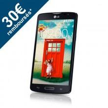 """Smartpone 5"""" LG L80 8 Go - Noir ou Blanc (Avec ODR de 30€)"""