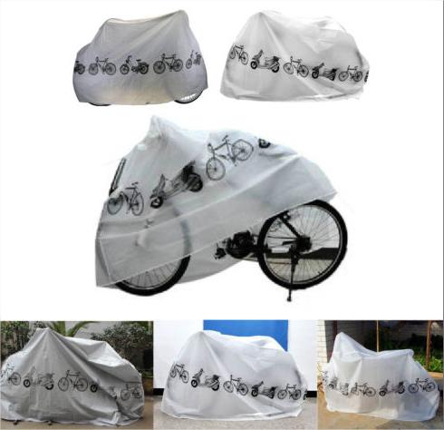 Bache protection scooter/vélo - Blanc ou gris