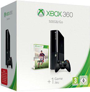 Pack Console Xbox 360 500Go + Fifa 15