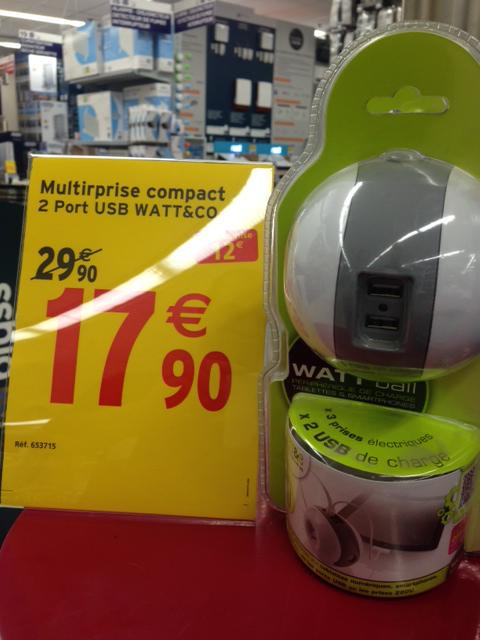 Multiprise Watt Ball (pour PC Smartphone et tablette)