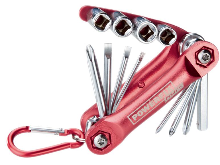 Tournevis / clés à douilles  façon couteau suisse