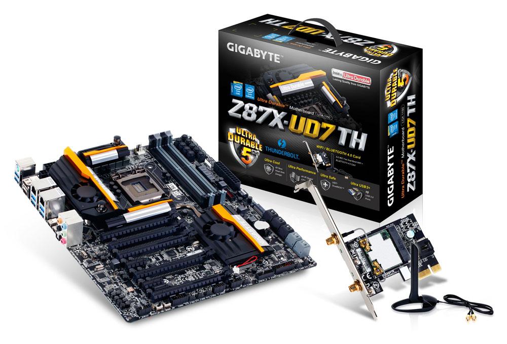 Carte mère Gigabyte GA-Z87X-UD7 TH - eATX - LGA1150