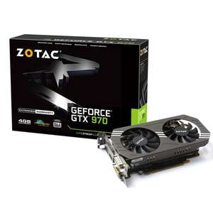 Carte Graphique Zotac GeForce GTX 970 - 4 Go -
