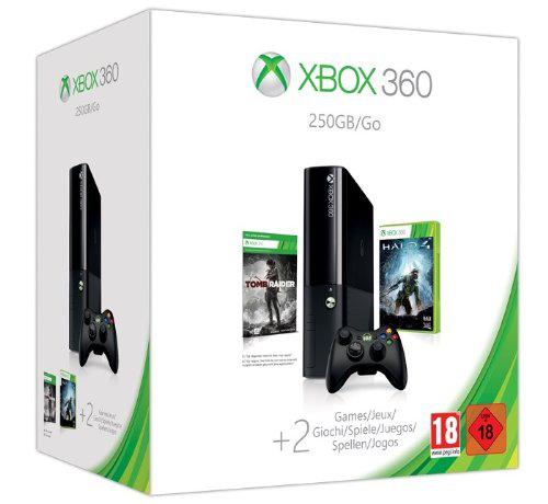 Pack console Xbox360 - 250 Go + Halo 4 + Tomb raider + Destiny