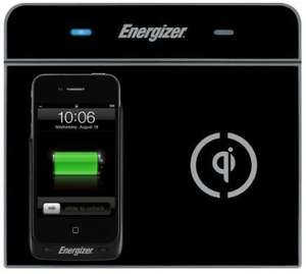 chargeur à induction double-position Energizer LCSEZIC2B pour smartphone