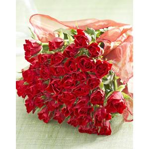 Le bouquet de 51 roses - Différents coloris
