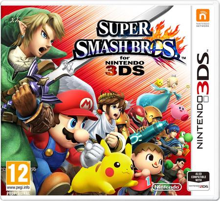 Jeu Super Smash Bros sur Nintendo 3DS