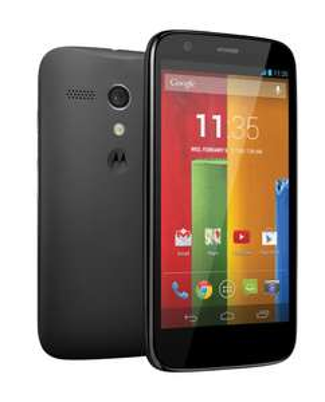 Smartphone Motorola Moto G 8Go Noir