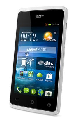 "Smartphone 4"" Acer Liquid Z200 Duo Blanc - Dual Sim"