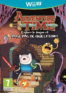 Jeu Nintendo Wii U Adventure Time : explore le donjon et  pose pas de question
