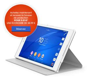 Tablette Xperia Z3 Compact + Housse offerte