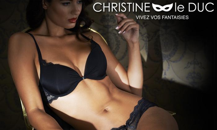 Bon d'achat de 50 € valable sur Christine Le Duc (Adam & Eve)