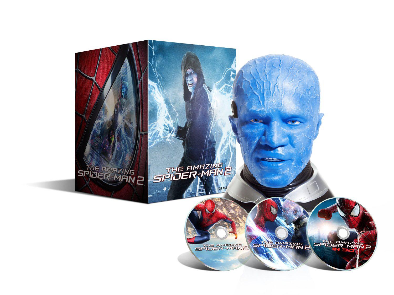 Coffret The Amazing Spider-Man 2 : le destin d'un Héros (Blu-ray 3D + Blu-ray + DVD) - Edition collector limitée exclusive