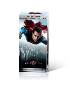 Coffret collector Man of Steel -  DVD + Blu-ray + Blu-ray 3D + Copie Numérique + Statue collector