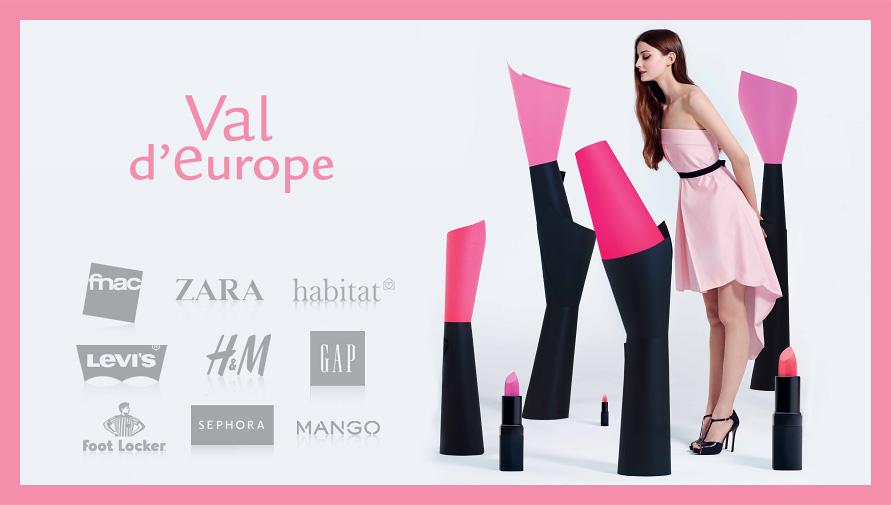 Rosedeal Val d'Europe : Bon d'achat de 30€ (valable dans 132 magasins dont Auchan)