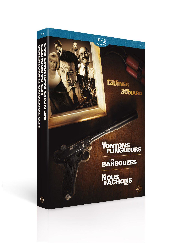 Coffret Blu-ray Georges Lautner / Michel Audiard - Les tontons flingueurs + Les barbouzes + Ne nous fâchons pas