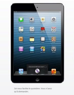 Apple iPad Mini Wi-Fi 16 Go Noir