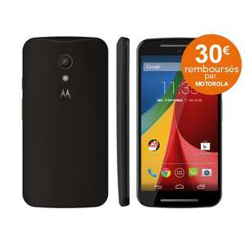 Smartphone Motorola Moto G 2ème génération double SIM (avec ODR 30€)