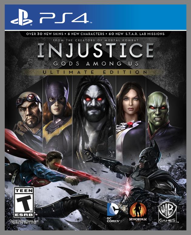 Jeu Injustice sur PS4