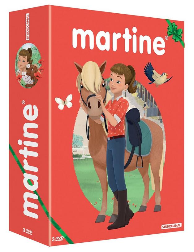Coffret 3 DVD Martine