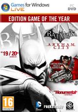 Trilogie Batman Arkham sur PC (dématérialisée - Steam)