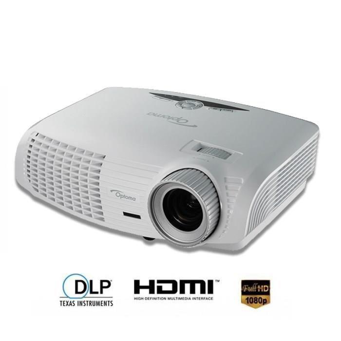 "Vidéoprojecteur Optoma HD131XW  Full HD 3D + Ecran Optoma 92"" offert"