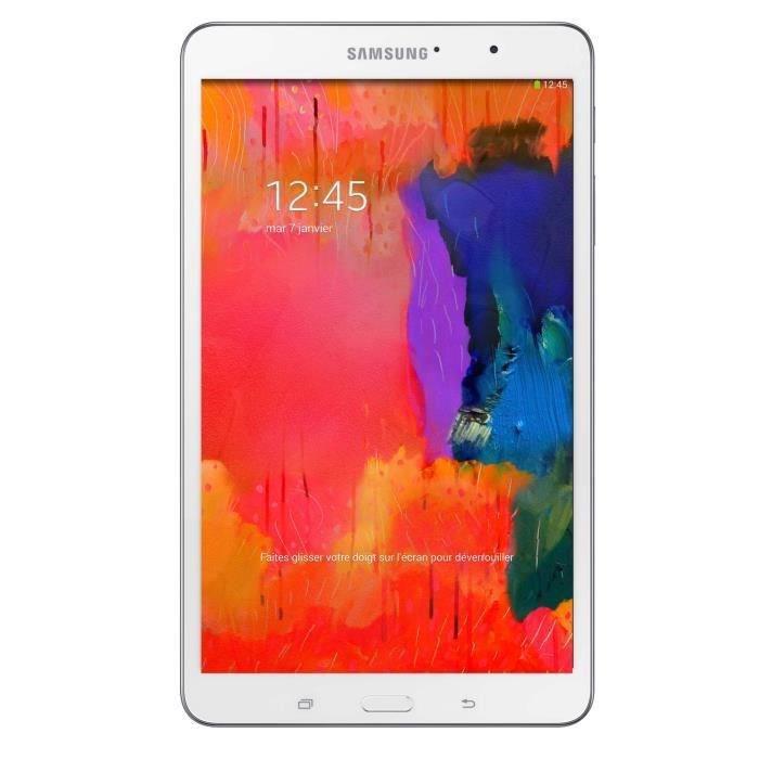 """Tablette Samsung Galaxy Tab Pro 8.4"""" 4G 16 Go Blanche"""