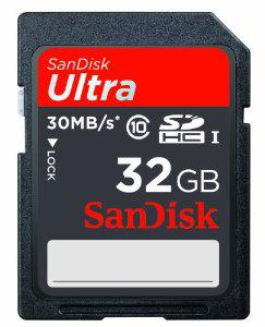 Carte mémoire SDHC SanDisk Ultra 32 Go Classe 10