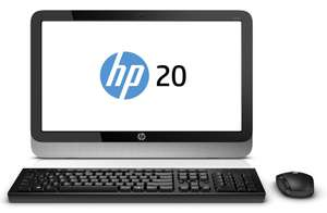 "PC All in One - HP PC 20-2130nf - 19,5"" Noir - 4Go RAM, disque dur 2 To, Windows 8.1"