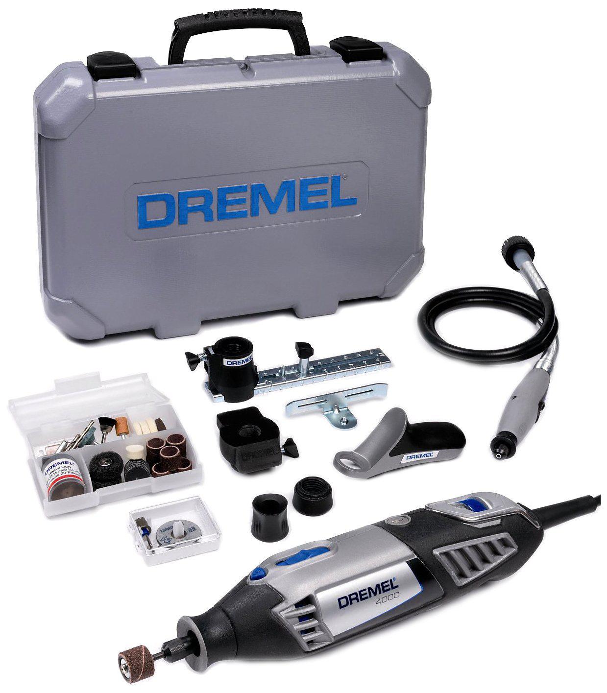 Coffret Dremel 4000 JD avec outil rotatif multifonctions