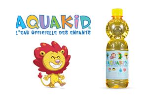 Pack de 6 bouteilles de 0.5L Aquakid gratuit au lieu de 2.90€ (via Shopmium)