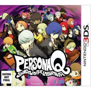 [Précommande] Jeu Persona Q - Shadow of the Labyrinth sur Nintendo 3DS